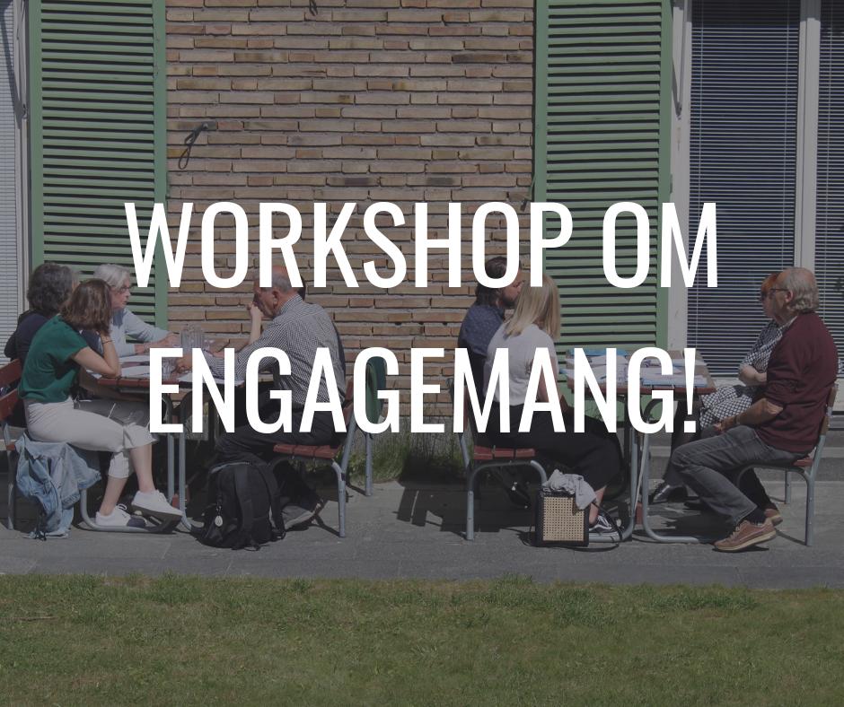 Delta i Svenska Freds workshop om engagemang.
