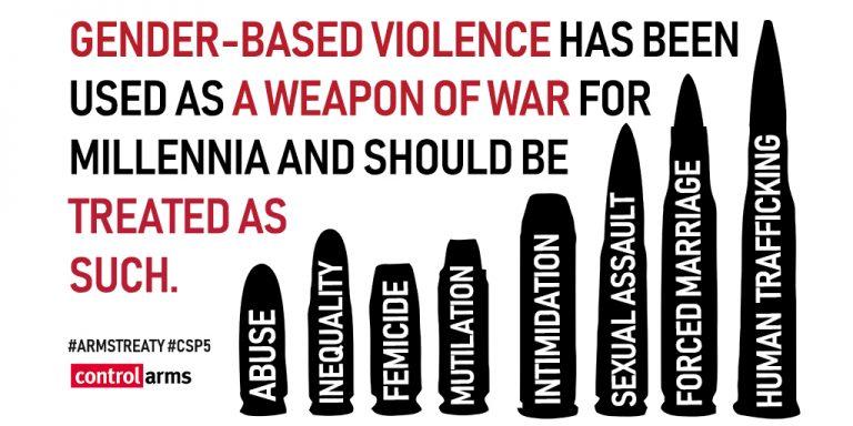 ATT och könsbaserat våld, Illustration: Control Arms