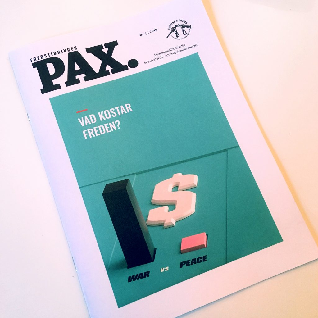 Fredstidningen Pax nr 4 2019