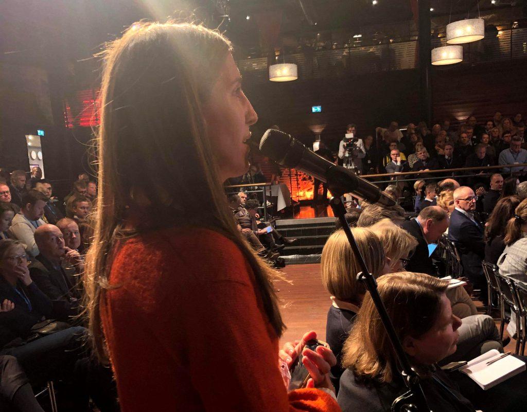 Agnes Hellström, Folk och försvar 2020