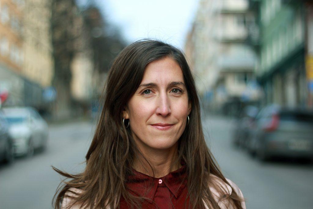 Agnes Hellström, ordförande i Svenska Freds