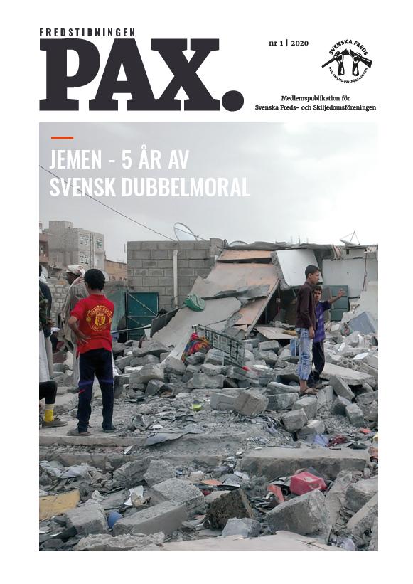 Fredstidningen Pax, nr 1 2020