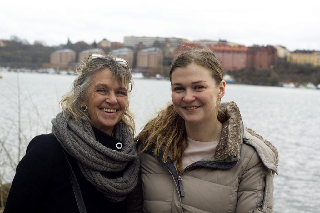 Helena Lindholm och Rebecka Lindholm Schulz. Foto: Ingrid Heller