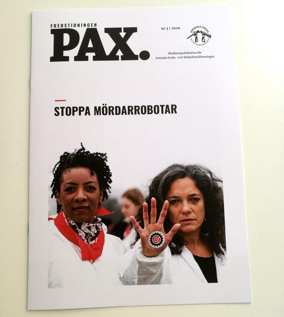 Fredstidningen Pax nr 3 2020